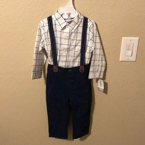 Infant carters outfit